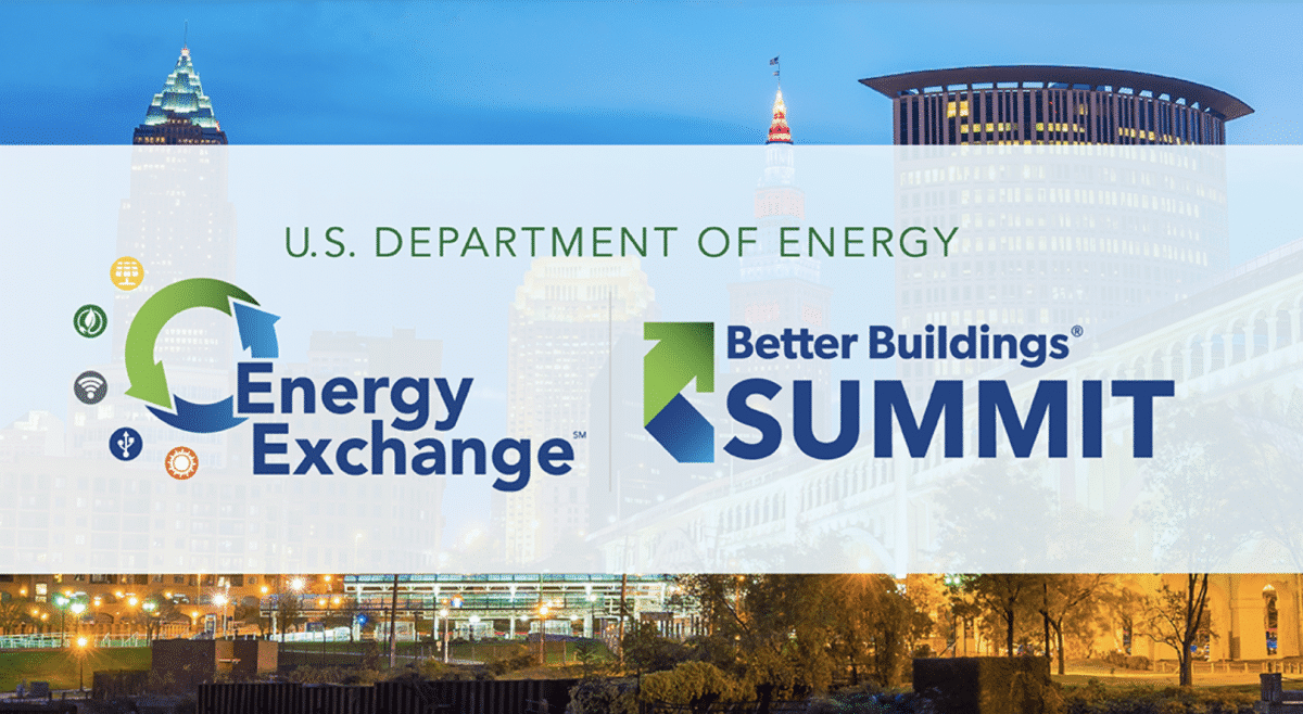 We are Exhibiting! Energy Exchange | Better Buildings Summit | Aug 21-23 2018