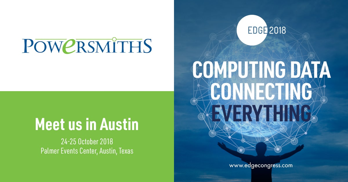 Meet us in Austin TX for the Edge Conference