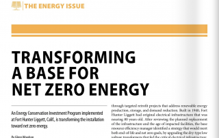 transforming a base for net zero energy article