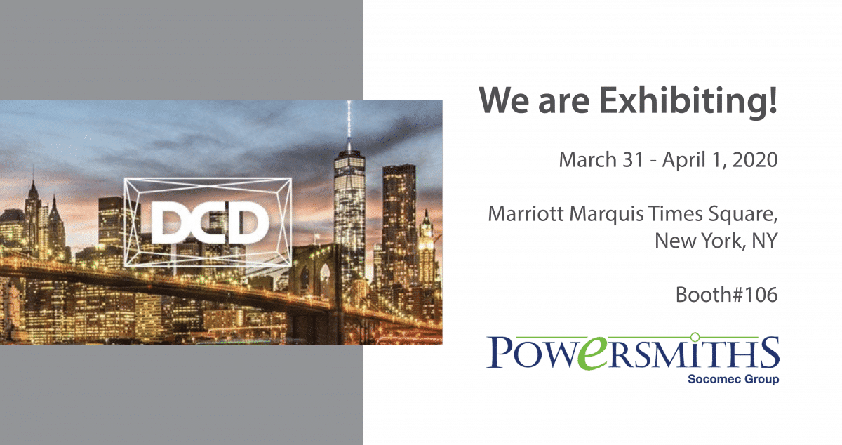 We're Exhibiting! DCD > NY – Mar 31-Apr 1