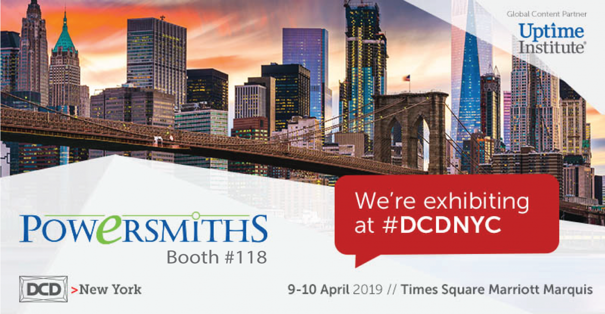We're Exhibiting! DCD > NY – April 9-10 2019