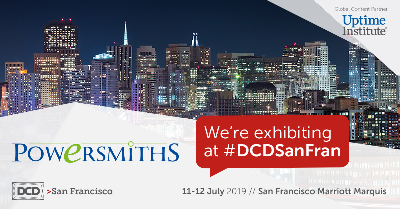 We're Exhibiting! DCD > San Fran – July 11-12 2019