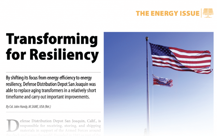 Transforming for Resiliency - TME Article - Powersmiths Case Study